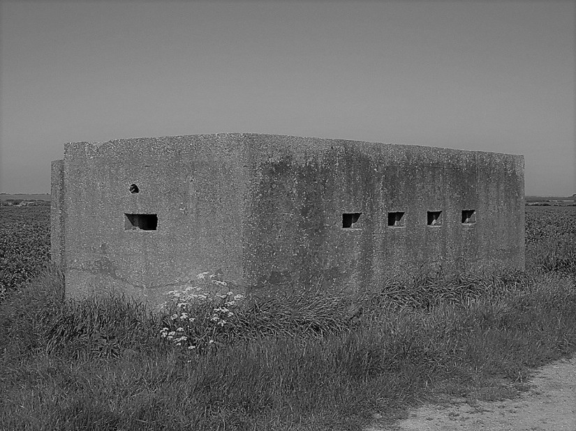 Pill boxes.